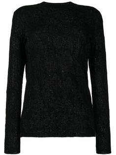 свитер с круглым вырезом и принтом  Ash