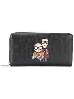 кошелек с аппликацией Dolce & Gabbana