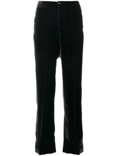 бархатные брюки F.R.S For Restless Sleepers