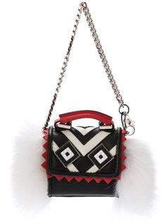 миниатюрная сумка Alex Mask Fur Les Petits Joueurs