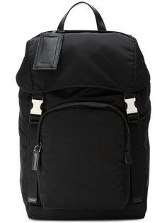 рюкзак с карманом на молнии Prada