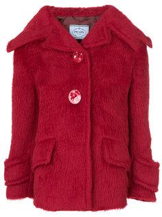 куртка с овечьей кожей  Prada