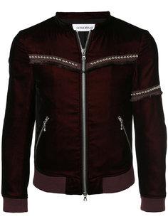 куртка с заклепками и бахромой Gomorrah