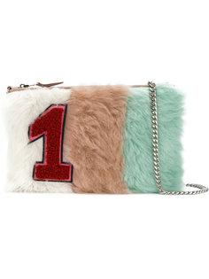 сумка на плечо с заплаткой 1 Miu Miu