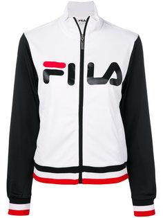 спортивная куртка с логотипом  Fila
