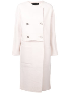 свободное пальто на пуговицах  Proenza Schouler