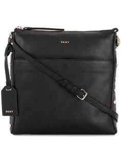 сумка через плечо с заклепками DKNY