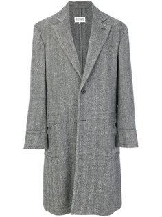 приталенное классическое пальто Maison Margiela
