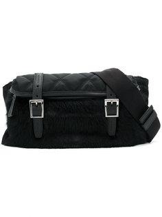 стеганая сумка на пояс Prada