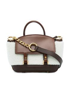 сумка через плечо с контрастным дизайном Sacai