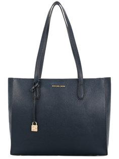 объемная сумка-тоут с логотипом Michael Kors