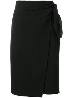 юбка с запахом и узлом Dvf Diane Von Furstenberg