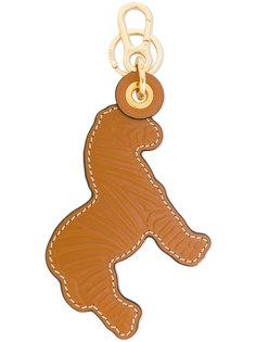 текстурный брелок для ключей в форме льва Loewe