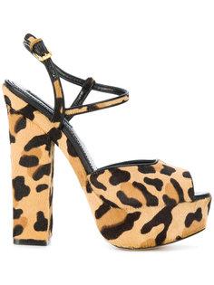 босоножки Ziggy с леопардовым рисунком Dsquared2