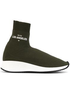 кроссовки с вставкой в стиле носка Joshua Sanders