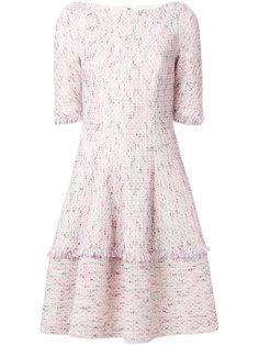 твидовое платье  Talbot Runhof