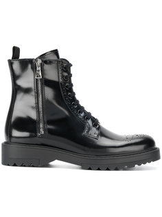 ботинки на молнии Prada
