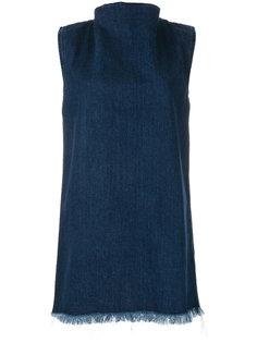 джинсовое короткое платье Marquesalmeida Marquesalmeida