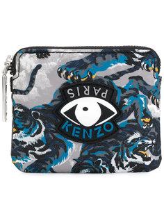 бумажник с принтом глаза Kenzo