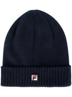 вязаная шапка-бини Fila