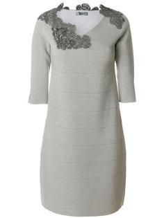 платье с аппликацией D.Exterior