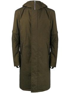 пальто с капюшоном Helmut Lang