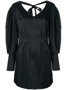 платье с завязкой на спине и украшением под жемчуг Magda Butrym