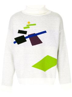 свитер с высокой горловиной Gosha Rubchinskiy
