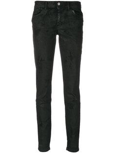 фактурные брюки скинни  Just Cavalli