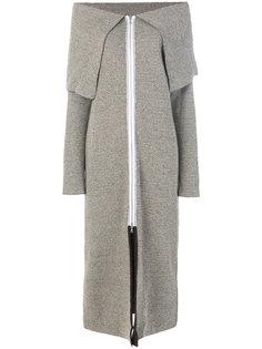 пальто-свитер на молнии  Walk Of Shame