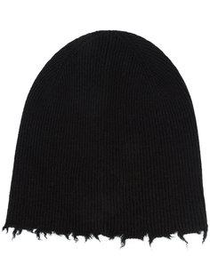 шапка с бахромой Helmut Lang