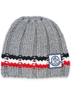 шапка с логотипом Moncler Gamme Bleu