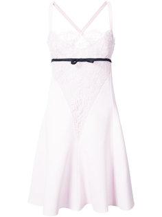 платье с кружевной вставкой Giambattista Valli