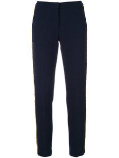 брюки с контрастным кантом  Ki6