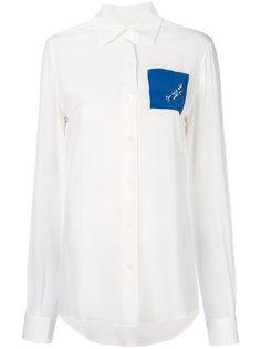 рубашка с карманом  Loewe