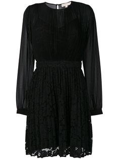 плиссированное платье Michael Michael Kors