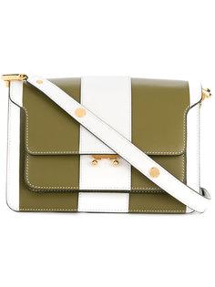 полосатая сумка на плечо Marni