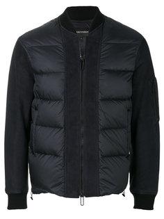 спортивная куртка-пуховик Emporio Armani