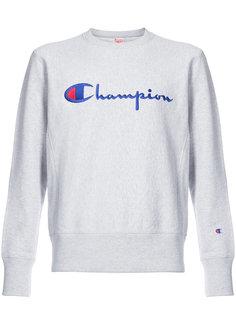 толстовка с вышивкой логотипа Champion