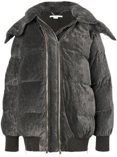 пальто-пуховик с двойной молнией Stella McCartney