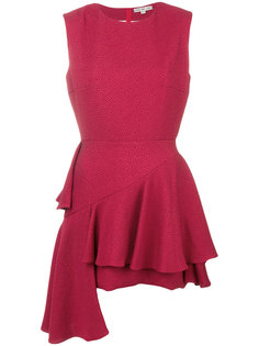 короткое платье с оборками Edeline Lee Edeline Lee