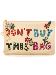 клатч с аппликациями Cleo Dolce & Gabbana