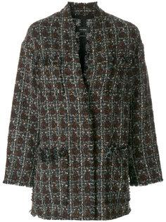 твидовое пальто Fliver Isabel Marant