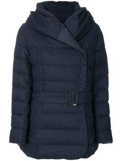 куртка-пуховик с капюшоном Armani Collezioni