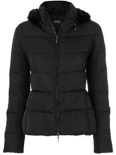 куртка-пуховик с капюшоном Armani Jeans