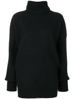 трикотажный свитер с отворотом  Maison Margiela