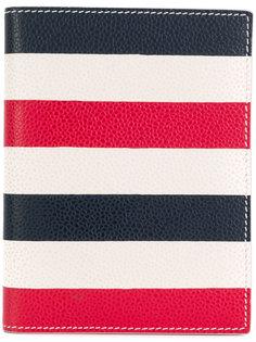 полосатый бумажник  Thom Browne