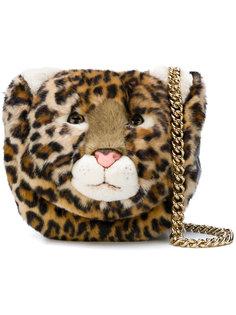 сумка через плечо в форме леопарда Dolce & Gabbana