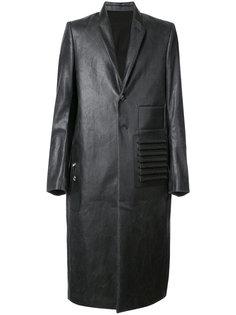 пальто из искусственной кожи Rick Owens