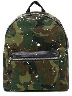 рюкзак с камуфляжным принтом Amiri